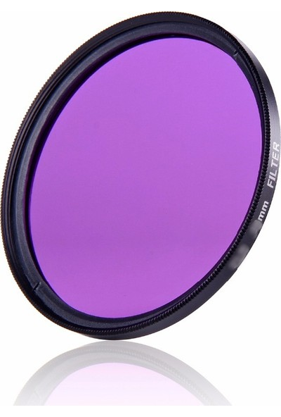 AZT 67mm Full Color Purple Mor Efekt Filtre