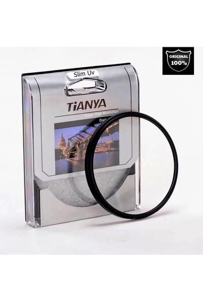 Tianya Canon 18-135mm Lens için 67mm Slim Mc Uv Filtre + Ew-73b Bayonet Parasoley