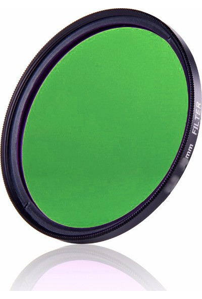 AZT 62mm Full Color Green Yeşil Efekt Filtre