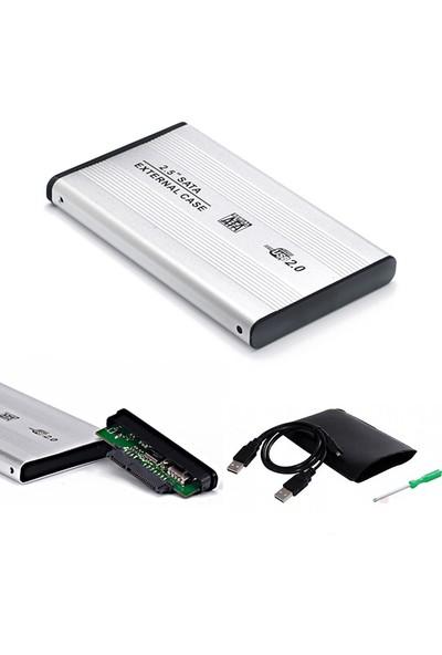 """LineOn USB 2.5"""" Harici HDD Kutusu USB 2.0 Alüminyum"""