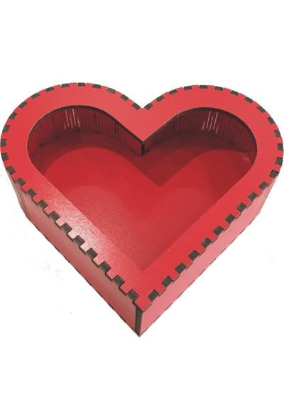 Çerez Tabağı Çakıltaşı Karışık Kalpli Kutu