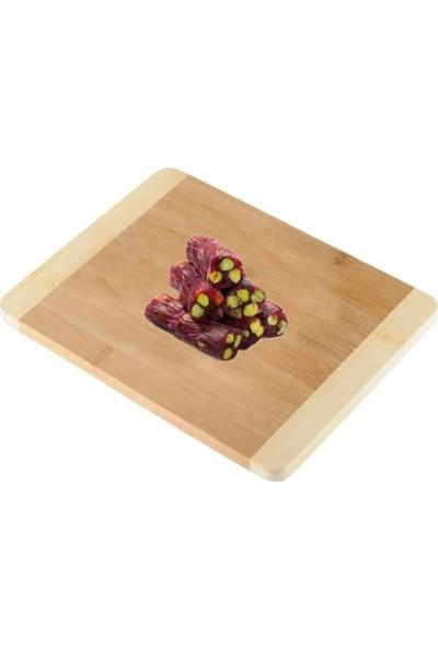 Çerez Tabağı Antep Fıstıklı Narlı Fitil Lokum 500 gr
