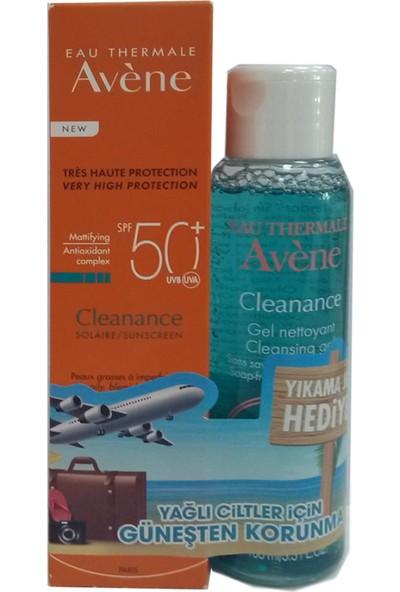 Avene Eau Thermale Cleanance Solaire Spf50+ Avene Cleanance Gel Nettoyant 100 ml