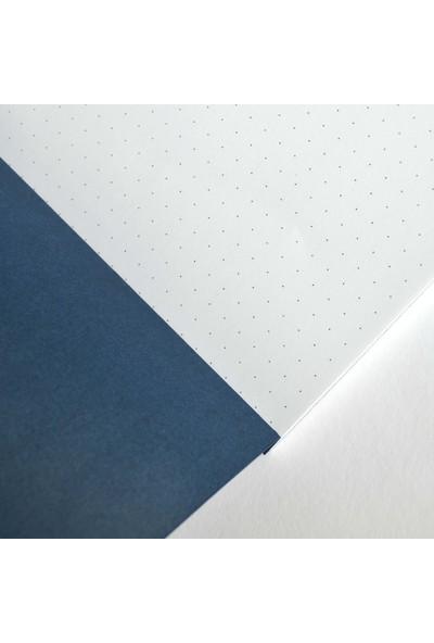 Pulp Bullet Journal Blue Noktalı Defter (A5)