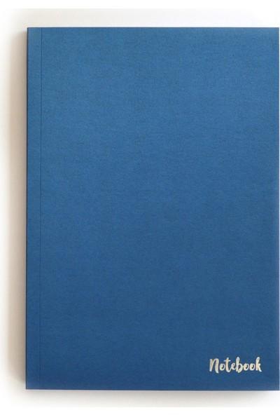 Pulp Sparkle Blue Çizgisiz Defter (A5)