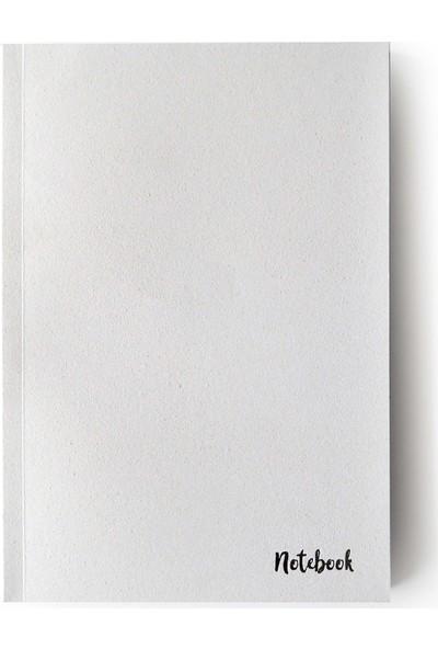 Pulp Stardust White Çizgisiz Defter (A5)