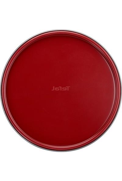 Tefal J1642614 Delibake Savarin 26 cm Kelepçeli Kek Kalıbı Kırmızı - 2100104740