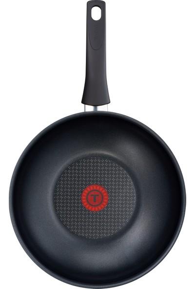 Tefal C3671902 Titanium Elegance 28 cm Thermo-Spot Teknolojili Yapışmaz Wok Tava [ Siyah ] - 2100101775