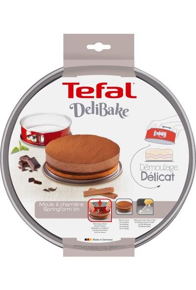 Tefal J1641414 Delibake 28 cm Kelepçeli Kek Kalıbı Kırmızı - 2100104748