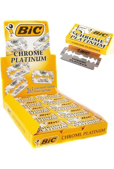 Bic Choreme Platinum Tıraş Bıçağı 1 Paket / 100 Adet Jilet