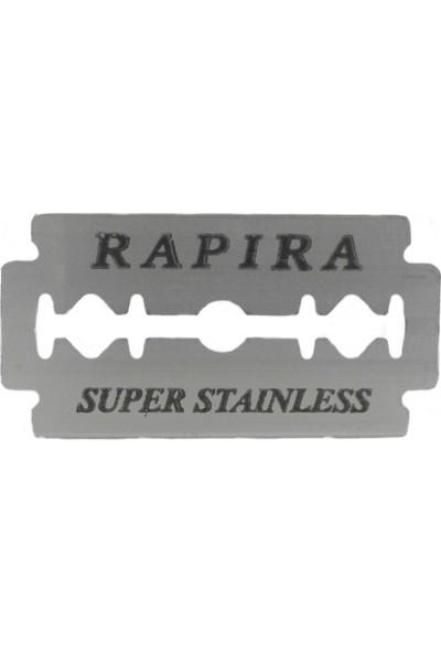 Rapira Super Stainless Çift Taraflı Tam Jilet 10 Adet