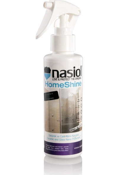 Nasiol Homeshine Nano Dusakabin Lavabo Su Kaydırıcı 423482