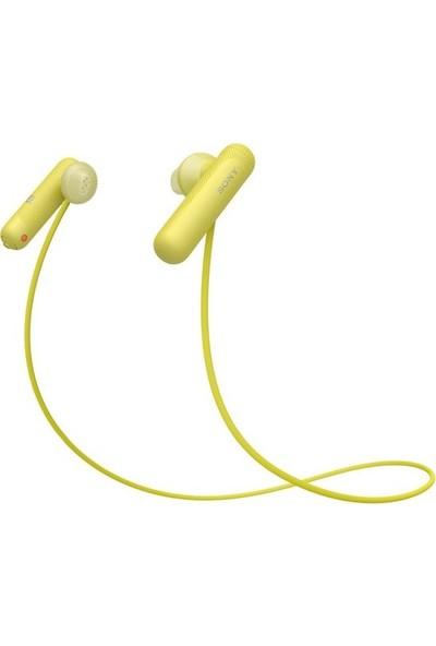 Sony WI-SP500 Sarı Kulakiçi Kulaklık