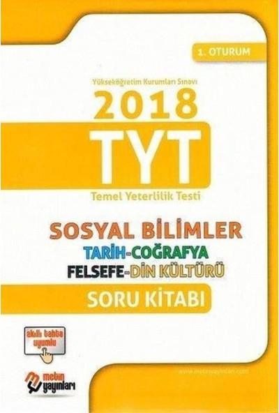 Metin Yayınları YKS 1.Oturum TYT Sosyal Bilimler Soru Bankası