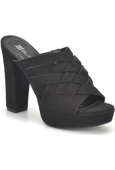 Butigo 18S-054 Siyah Kadın Ayakkabı