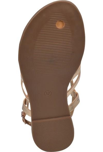 Butigo 18S-2A96348-3 Bronz Kadın Ayakkabı