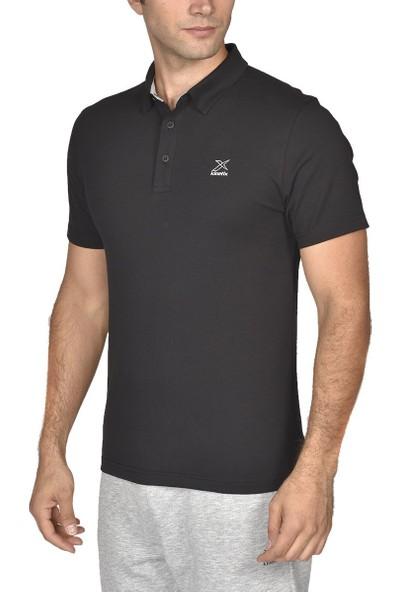Kinetix Basic Pes Meson Polo T-Sh Siyah Erkek T-Shirt