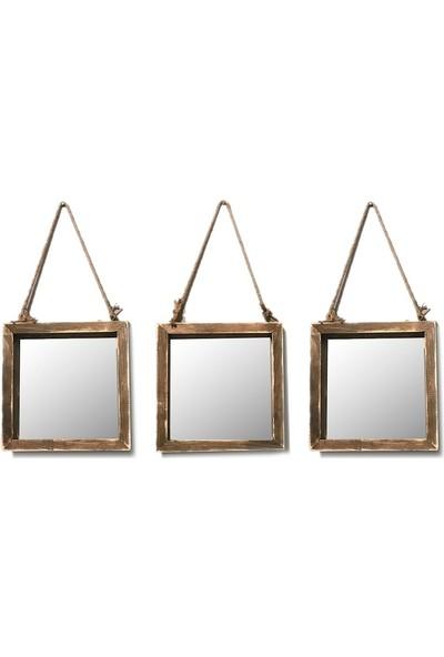 222 Concept Masif El Yapımı CPT2307-35 Takım Ayna