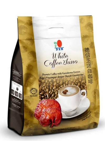 Dxn White Coffee Zhino Ganoderma Ve Cappucino Kahve