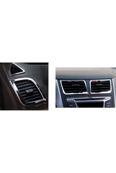 Next Oto Hyundai Accent Blue Havalandırma Kromu 6 Parça