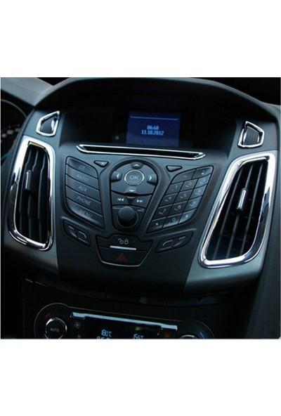 Next Oto Ford Focus Havalandırma Kromu Focus 3 2012 - 2015 Arası 5 Parça