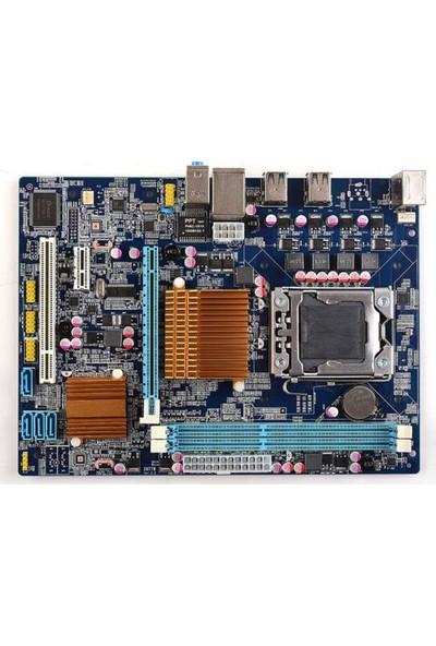 Asboard X58 Intel X58 1600MHz DDR3 Soket 1366 mATX Anakart