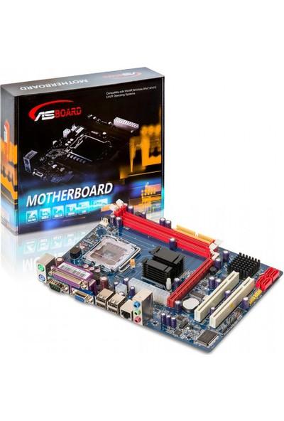Asboard Intel G41 DDR3 1333MHz(O.C) Soket 775 mATX Anakart