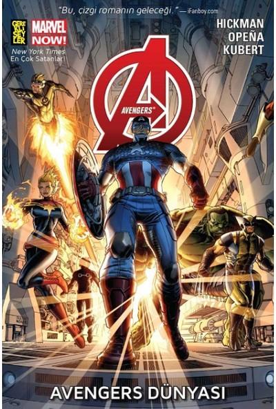Avengers 1: Avengers Dünyası (Marvel Now) Türkçe Çizgi Roman - Jonathan Hickman