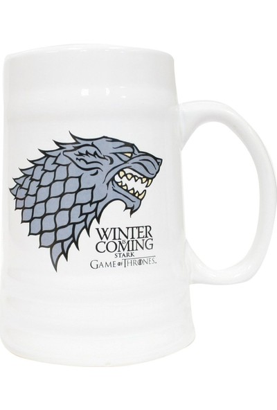 Game of Thrones Stark Ceramic Stein Kupa