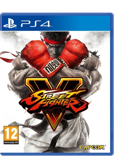 Street Fighter V PS4 Oyun