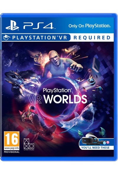 Playstation Vr Worlds PS4 Oyun