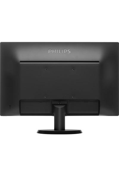 "Philips 193V5LSB2/62 18.5"" 5ms (Analog) LED Monitör"