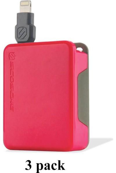 Scosche Apple MFI Sertifikalı Lightning Iphone 7/8/X Ipad Uzatmalı USB Şarj Kablosu