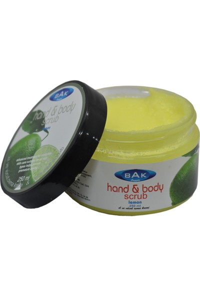 Bak Hand & Body Scrub Limon Peeling 250 Ml