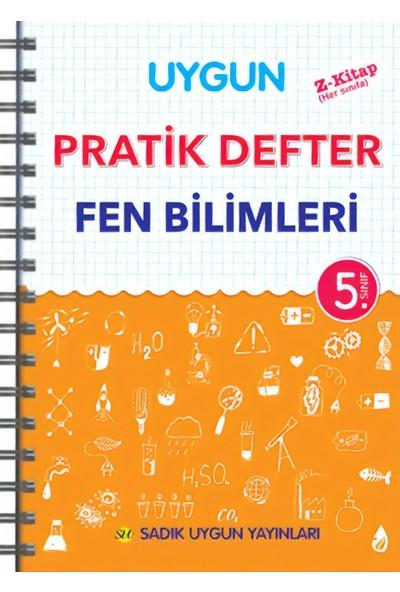Sadık Uygun Yayınları Pratik Defter Fen Bilimleri 5.Sınıf