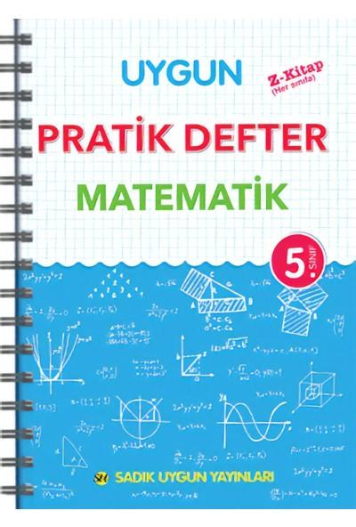 Sadık Uygun Yayınları Pratik Defter Matematik 5.Sınıf