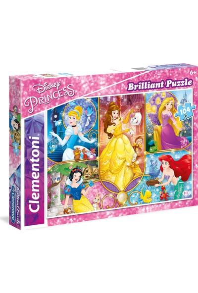 Clementoni 104 Parça Puzzle Pırlanta Princess
