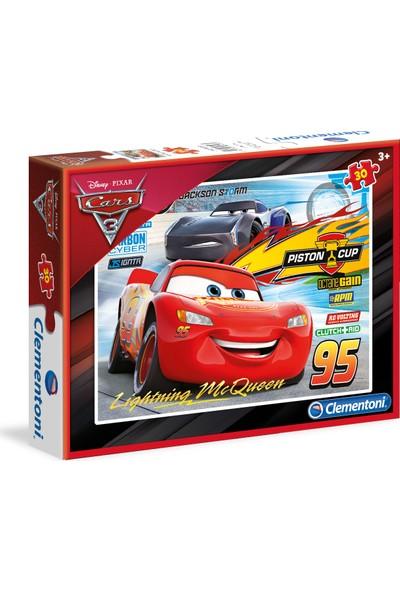 Clementoni 30 Parça Puzzle Cars 3 S.C.