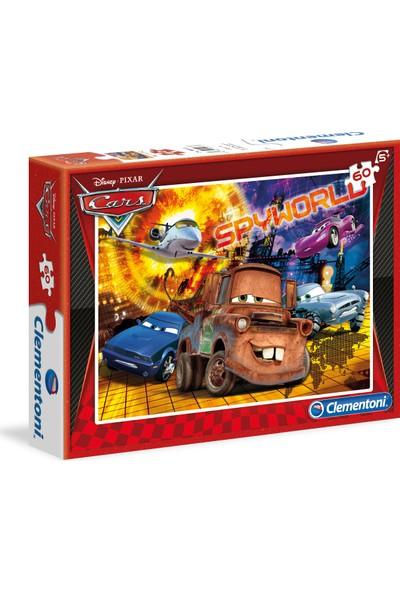 Clementoni 60 Parça Puzzle Cars S.C.