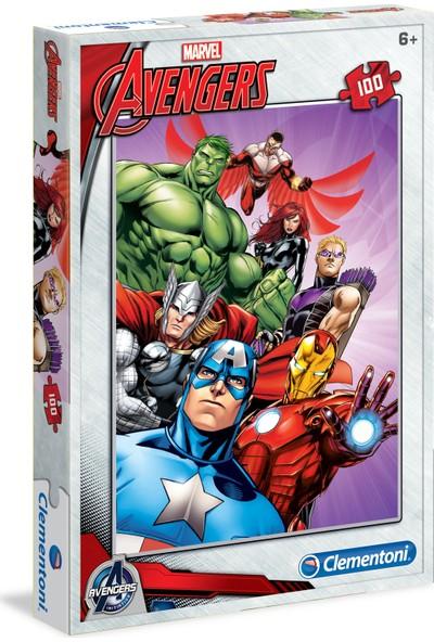 Clementoni 100 Parça Puzzle Avengers S.C.