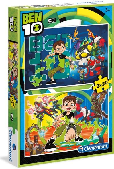 Clementoni 2x20 Parça Puzzle Ben 10 S.C.