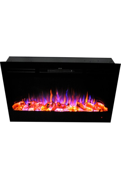 Ateşin Efendisi Elektrikli Şömine Boge 3 Renkli 92'lik Plazma