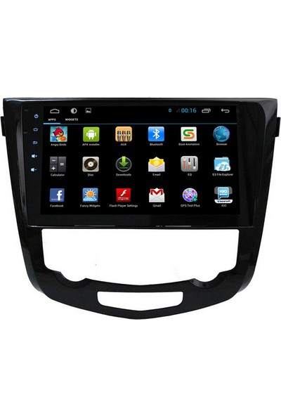 Nissan X Trail Qashqai 2014 Android Navigasyon Multimedya Tv Usb Oem 10 inç Tam Uyum