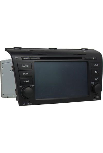 Mazda 3 Eski Android 8 Ram 4 Gb Navigasyon Multimedya Tv Usb Oem