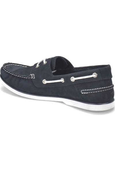 Oxide 71151-1 Kahverengi Mavi Erkek Deri Ayakkabı