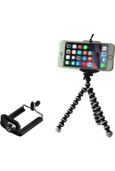 Appa Akrobat Gorillapod Telefon Kamera Katlanabilir Tripod Ayak 17 Cm