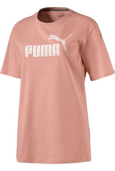Puma Ess No.1 Bf Tee Kadın Pudra T-Shirt 8384003100