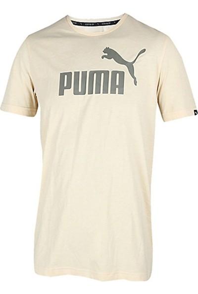 Puma Ess No.1 Heather Tee Erkek T-Shirt 8382438400