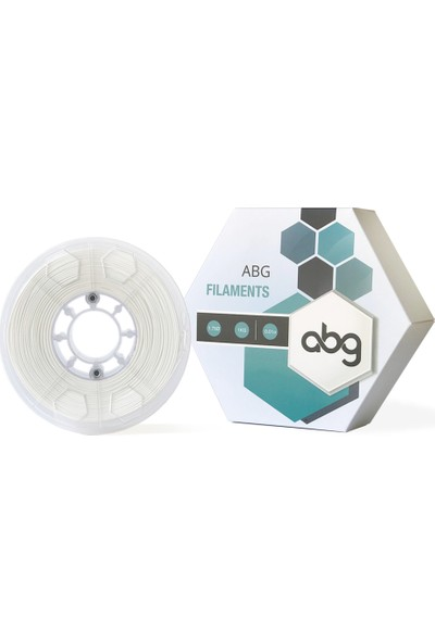ABG Filament 1,75 mm Beyaz PLA