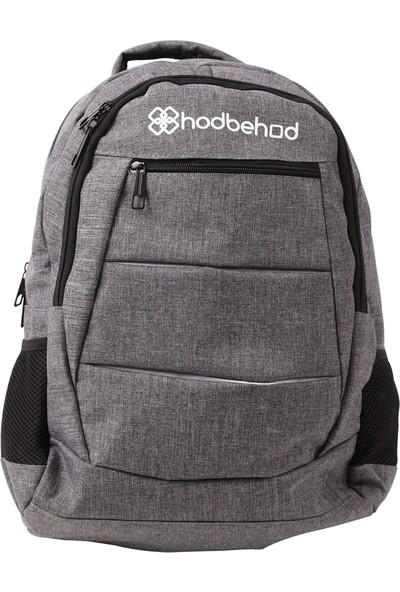 Hodbehod Laptop Bölmeli 15.6 Notebook Sırt Çantası - Gri